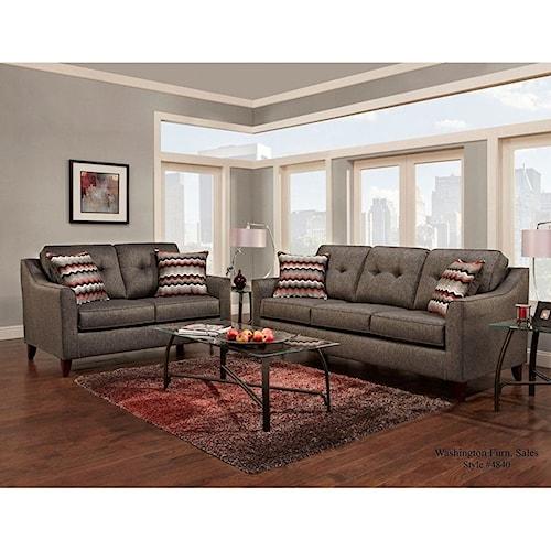 Washington Furniture 4840 Stationary Living Room Group