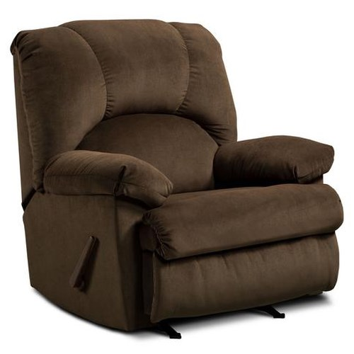 Washington Furniture 8500  Casual Pillow Arm Recliner