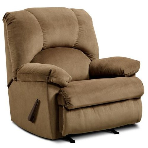 Washington Furniture 8500  Casual Pillow Arm Recliner
