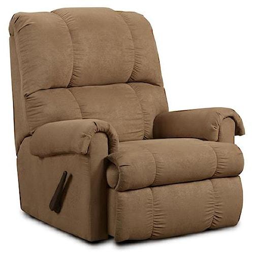 Washington Furniture 8700 Victory Taupe Rocker Recliner