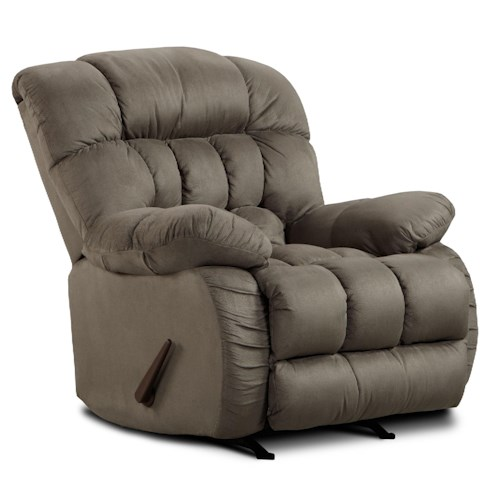 Washington Furniture 9200 Casual Recliner with Plush Pillow Arms