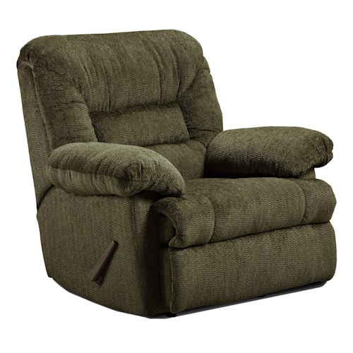 Washington Furniture 9500 Recliner with Pillow Armrests