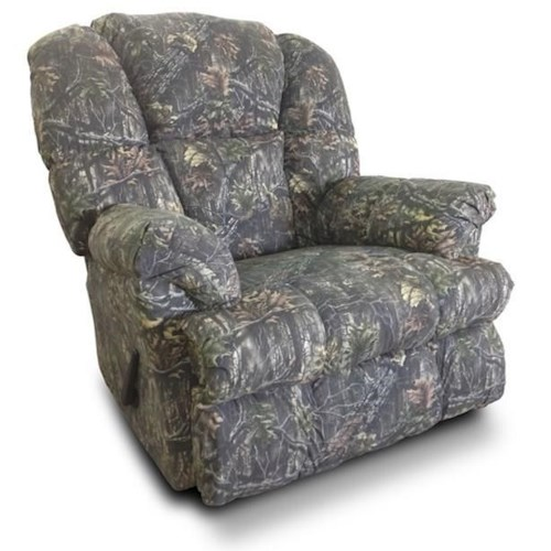 Washington Furniture 9745 Casual Recliner with Pillow Arms