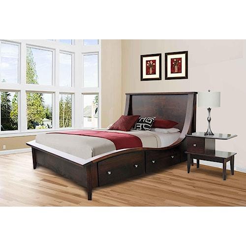 Wayside Custom Furniture Casual Bedroom Group