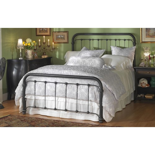 Wesley Allen Iron Beds Queen Braden Metal Bed