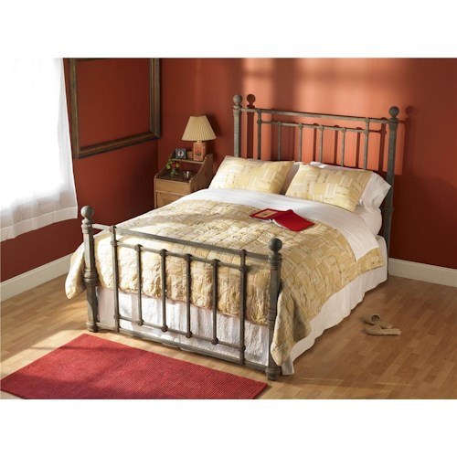 Wesley Allen Iron Beds Full Hancock Iron Poster Bed