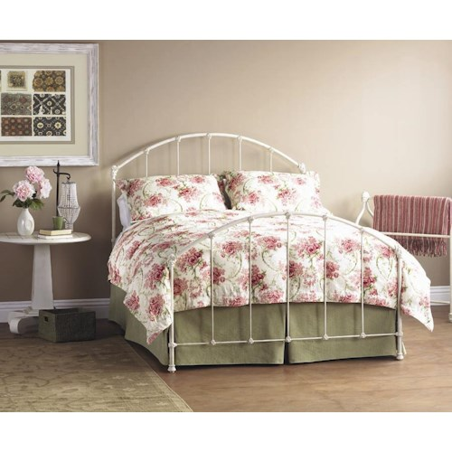 Morris Home Furnishings Iron Beds Full Complete Coventry Iron Bed