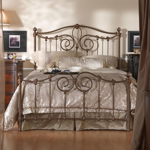 Wesley Allen Iron Beds King Olympia Metal Bed