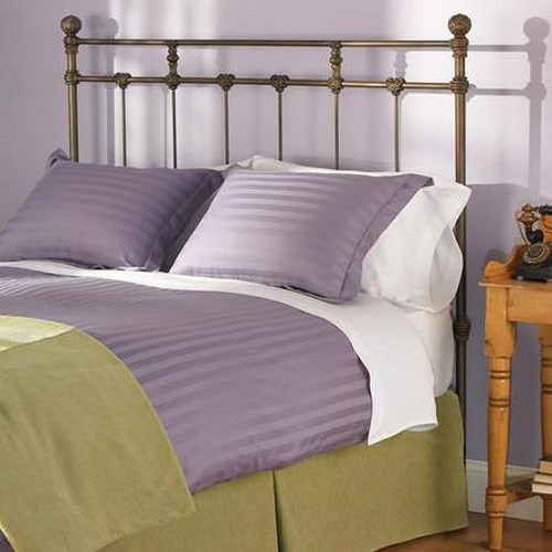 Morris Home Furnishings Iron Beds Twin Sena Iron Headboard