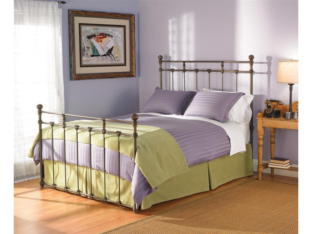 Shown as Complete Bed with Footboard