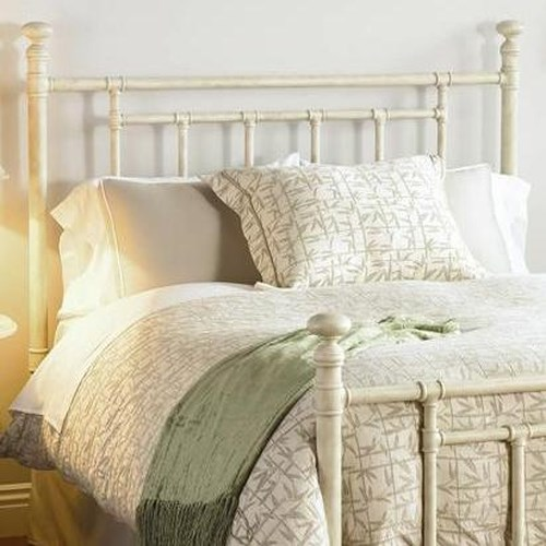 Morris Home Furnishings Iron Beds King Blake Iron Headboard
