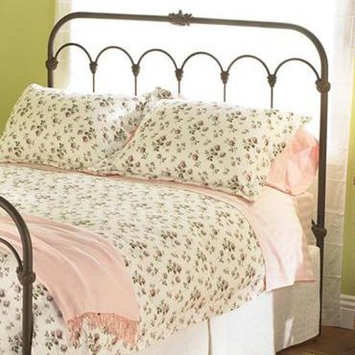 Morris Home Furnishings Iron Beds Full Hillsboro Iron Headboard