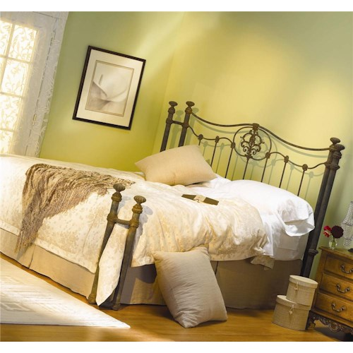 Morris Home Furnishings Iron Beds Dawson Iron Poster Bed