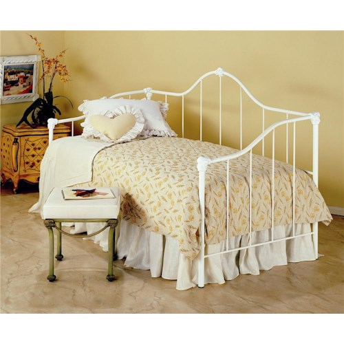 Morris Home Furnishings Iron Beds Saratoga Iron Daybed