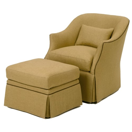 Wesley Hall Accent Chairs And Ottomans Upholstered Chair