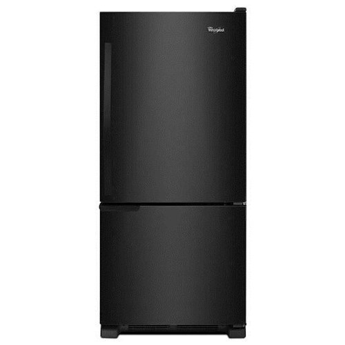 Whirlpool Bottom Freezer Refrigerators - 2014 19 cu. ft. Bottom-Freezer Refrigerator with SpillGuard™ Glass Shelves