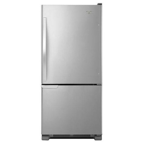 Whirlpool Bottom Freezer Refrigerators - 2014 19 cu. ft. Bottom-Freezer Refrigerator with SpillGuard™ Glass Shelves