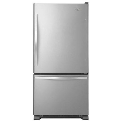Whirlpool Bottom Freezer Refrigerators - 2014 22 cu. ft. Bottom-Freezer Refrigerator with SpillGuard™ Glass Shelves