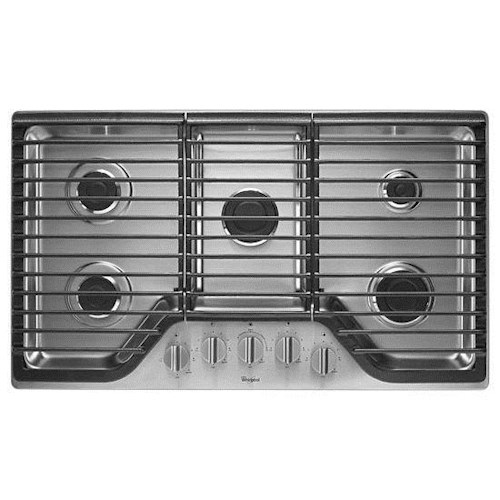 Whirlpool Gas Cooktops 36