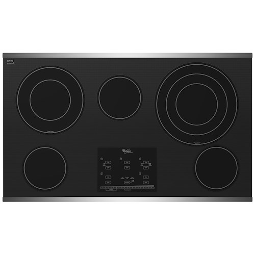 Whirlpool Electric Cooktop 36