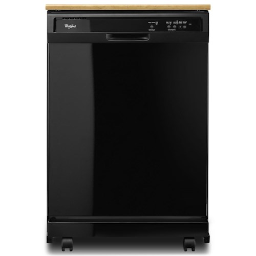 Whirlpool Dishwashers - Whirlpool Portable Dishwasher With The 1-Hour Wash Cycle