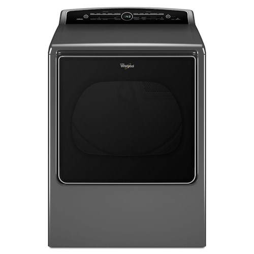 Whirlpool Electric Dryers 8.8 cu. ft. Cabrio® High-Efficiency Electric Steam Dryer with EcoBoost™ Option