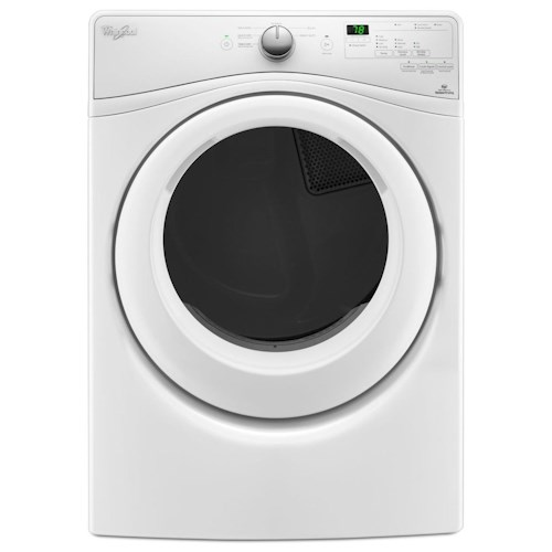 Whirlpool Electric Front Load Dryers 7.4 cu. ft. Duet® Long Vent Front Load Electric Dryer with Wrinkle Shield™ Plus Option