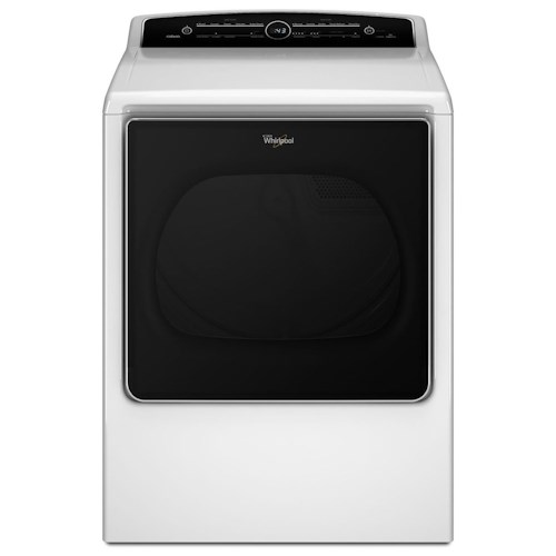 Whirlpool Electric Front Load Dryers 8.8 cu. ft. Cabrio® High-Efficiency Electric Steam Dryer