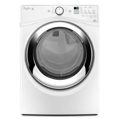 Whirlpool Electric Front Load Dryers 7.4 cu. ft. ENERGY STAR® Duet® Front Load Electric Steam Dryer with Wrinkle Shield™ Plus Option with Steam