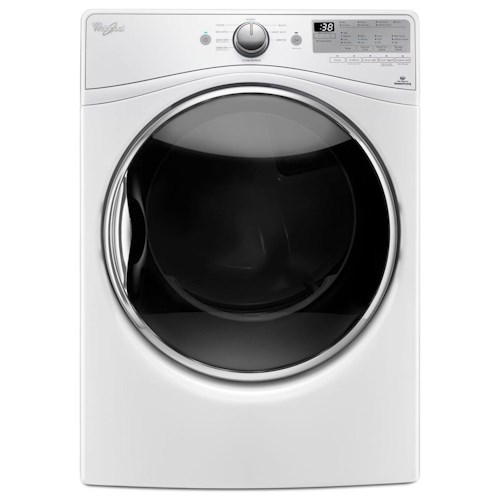 Whirlpool Electric Front Load Dryers 7.4 cu. ft. Electric Dryer with Stainless Steel Dryer Drum