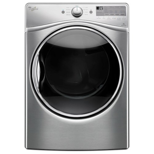 Whirlpool Electric Front Load Dryers 7.4 cu. ft. Electric Dryer with Advanced Moisture Sensing