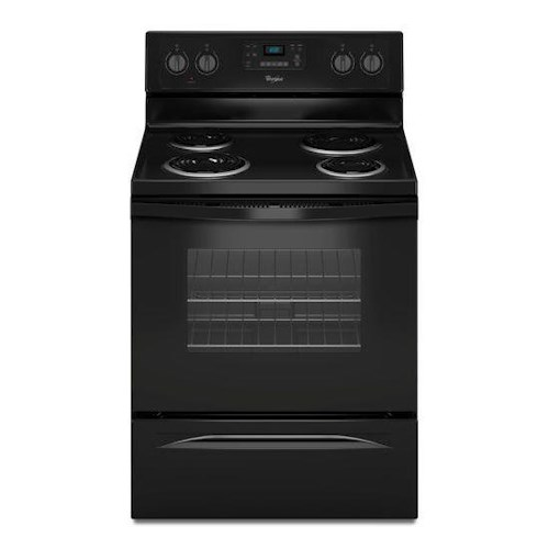 Whirlpool Electric Ranges 4.8 Cu. Ft. Freestanding Electric Range with AccuBake® System