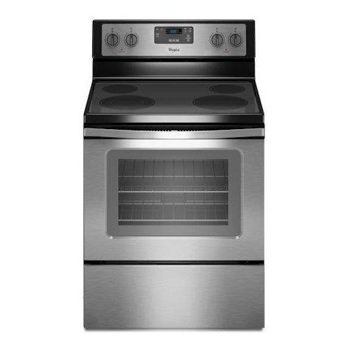 Whirlpool Electric Ranges 4.8 Cu. Ft. Freestanding Electric Range with FlexHeat™ Dual Radiant Element