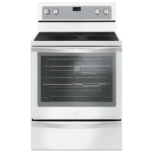 Whirlpool Electric Ranges 6.4 Cu. Ft. Freestanding Electric Range with True Convection
