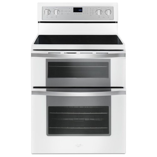 Whirlpool Electric Ranges 6.7 Cu. Ft. Electric Double Oven Range with True Convection
