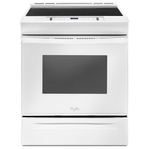 Whirlpool Electric Ranges 4.8 cu. ft. Electric Range with Guided Cooktop Controls