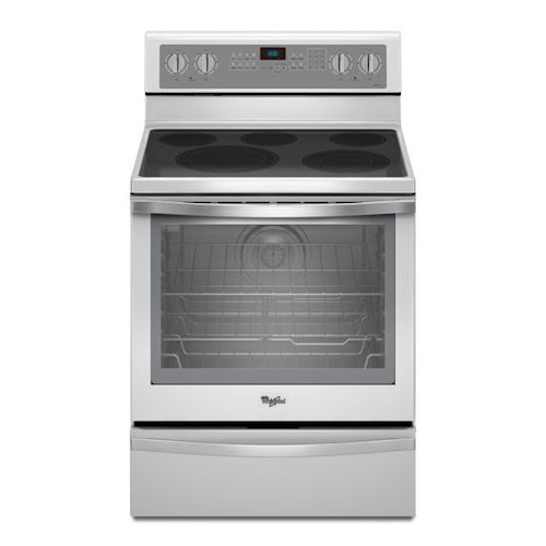 Whirlpool Electric Ranges 6.4 Cu. Ft. Freestanding Electric Range with Warming Drawer