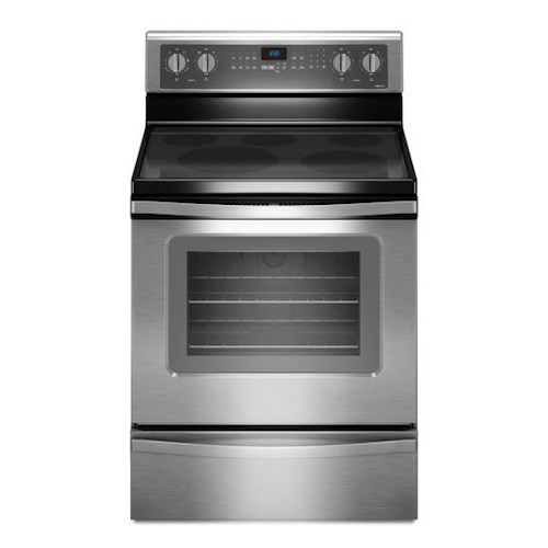 Whirlpool Electric Ranges 5.3 Cu. Ft. Freestanding Electric Oven Range with FlexHeat™ Triple Radiant Element
