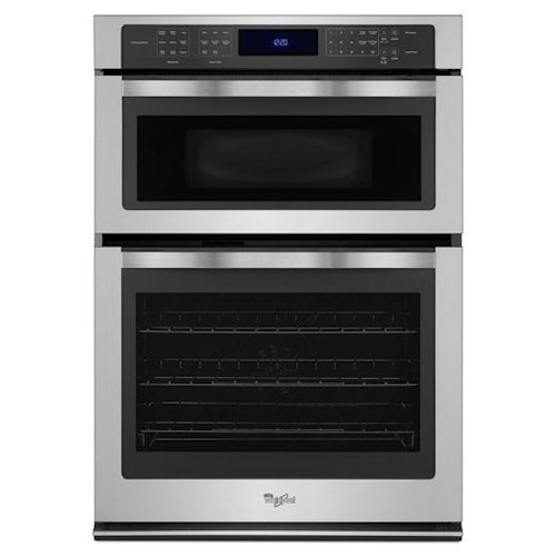 Whirlpool Electric Wall Ovens - Whirlpool 6.4 cu. ft. Combination Wall Oven with True Convection Microwave