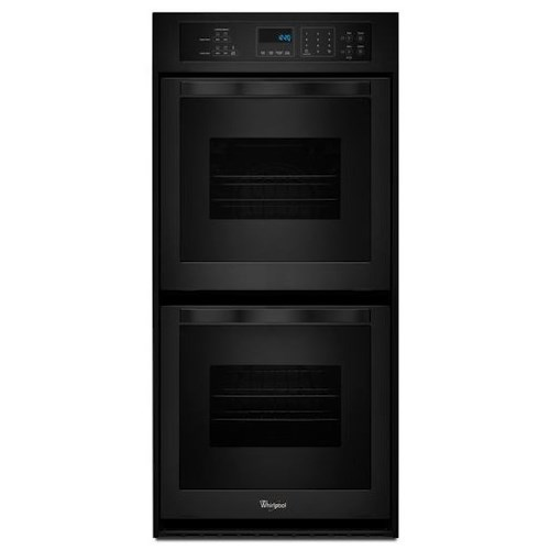 Whirlpool Electric Wall Ovens - Whirlpool 6.2 Cu. Ft. Double Wall Oven with High-Heat Self-Cleaning System