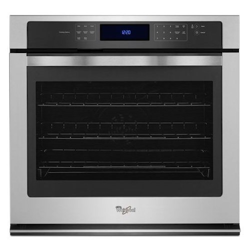 Whirlpool Electric Wall Ovens - Whirlpool 5.0 cu. ft. Single Wall Oven with True Convection