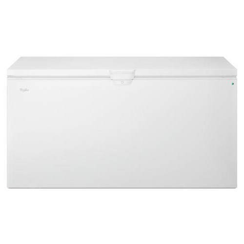 Whirlpool Freezer Chest 22 cu. ft. Chest Freezer with Extra-Large Capacity and Temperature Alarm