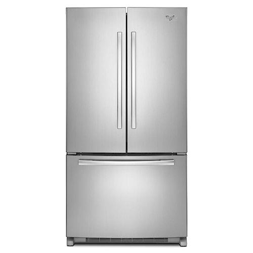 Whirlpool French Door Refrigerators 22 cu. ft. Energy Star® French Door Refrigerator with Accu-Chill™ System