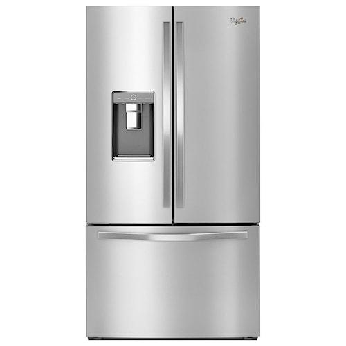Whirlpool French Door Refrigerators 36-inch Wide French Door Refrigerator with Infinity Slide Shelf - 32 cu. ft.