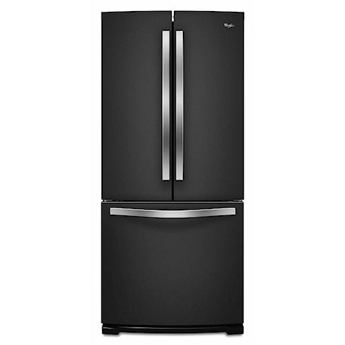 Whirlpool French Door Refrigerators ENERGY STAR® 19.6 Cu. Ft. French-Door Refrigerator with Ice Maker