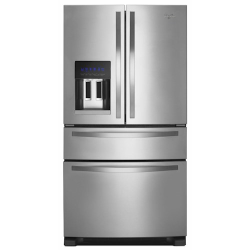Whirlpool French Door Refrigerators ENERGY STAR® 25 Cu. Ft. French Door Refrigerator with External Refrigerated Drawer