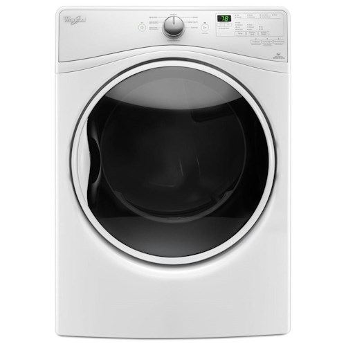 Whirlpool Front Load Washers 7.4 cu. ft. Electric Dryer with Quick Dry Cycle