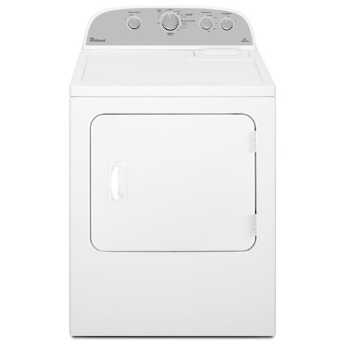 Whirlpool Gas Dryers 5.9 cu. ft. Top Load Gas Dryer with Flat Back Design
