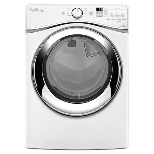 Whirlpool Gas Dryers 7.3 cu. ft. Duet® Steam Dryer with Wrinkle Shield™ Plus Option with Steam