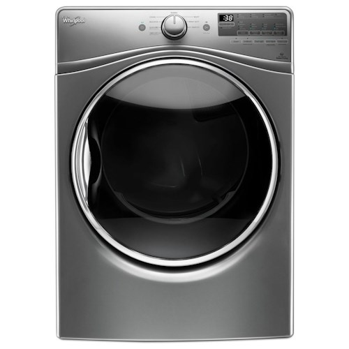 Whirlpool Gas Dryers 7.4 cu. ft. Gas Dryer with Stainless Steel Dryer Drum